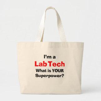 Grand Tote Bag technologie de laboratoire