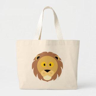 Grand Tote Bag Tête de Lion