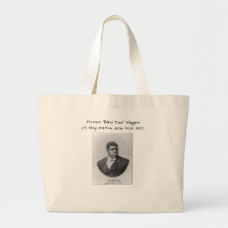 "Grand Tote Bag Thomas ""Tom aveugle"" Wiggins"