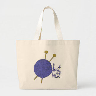 Grand Tote Bag Tricotage