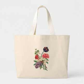 Grand Tote Bag Tulipes et pivoines de Redoute
