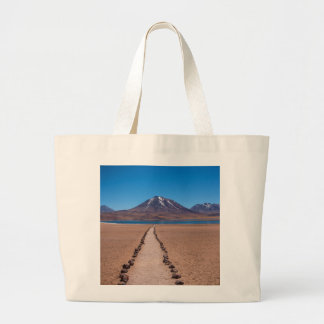 Grand Tote Bag Un chemin isolé