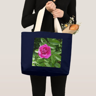 Grand Tote Bag Un rose rouge