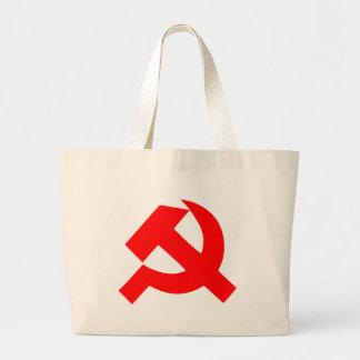 Grand Tote Bag Union Soviétique primitive CCCP de marteau et de