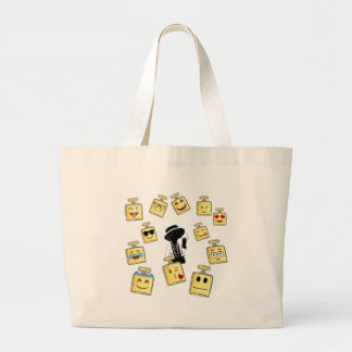 Grand Tote Bag Usage d'Emoji