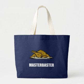 Grand Tote Bag Vacances drôles Turquie de Masterbaster