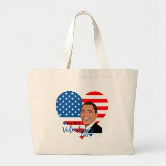 Grand Tote Bag valentine de Barack Obama