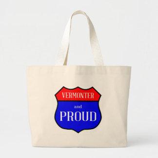 Grand Tote Bag Vermonter et fier