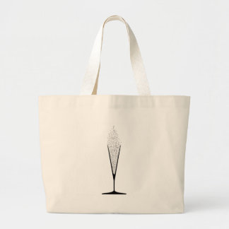 Grand Tote Bag Verre en forme de V