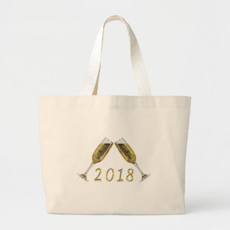 Grand Tote Bag Verres 2018 de Champagne