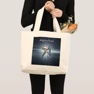 Grand Tote Bag Verseau de chrome
