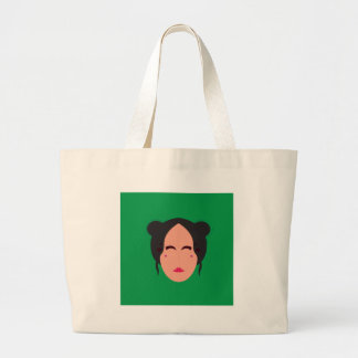 Grand Tote Bag Vert d'eco de qualité