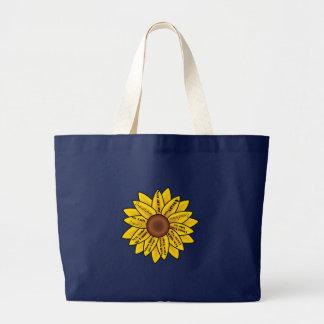 Grand Tote Bag Vous êtes mon soleil