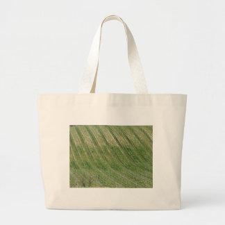 Grand Tote Bag Vue pittoresque de flanc de coteau de roulement