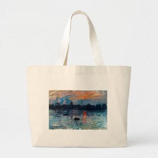 Grand Tote Bag Washington Skyline1