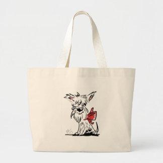 Grand Tote Bag westie ou scottie ?