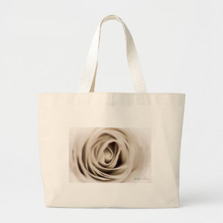 Grand Tote Bag white rose