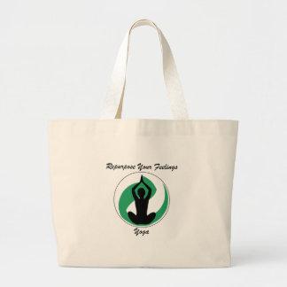 Grand Tote Bag Yoga RepurposeFeelings