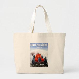 Grand Tote Bag Zurich 1939 Grand prix emballant l'affiche