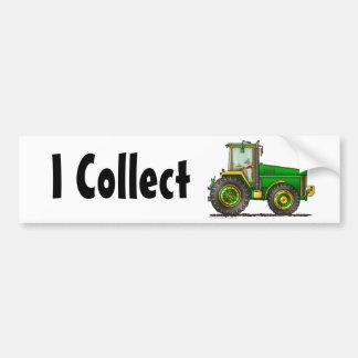 """""""Grand tracteur vert, je rassemble… des adhésifs p Autocollant De Voiture"""