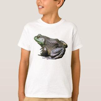 Grand vieux T-shirt d'animal de grenouille
