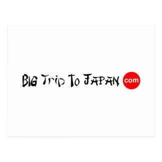 Grand voyage à la carte postale du Japon