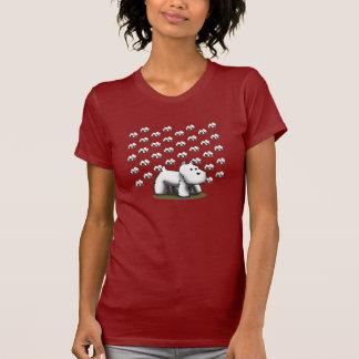 Grand Westie, peu de Westies T-shirt