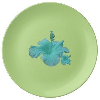 Grande Assiette en porcelaine Guamayane Rêve Bleu