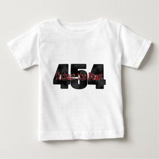 Grande bête du bloc 454 t-shirt pour bébé