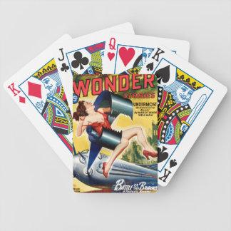 Grande bride de robot jeu de poker