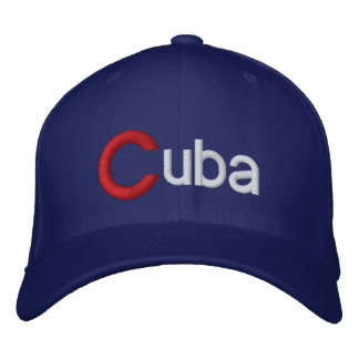 Grande C Cuba casquette de baseball du Cuba