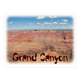 Grande carte postale de canyon grand !