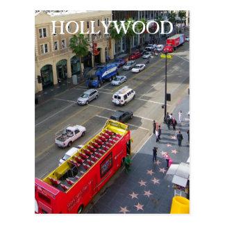 Grande carte postale de Hollywood Boulevard !