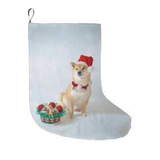 Grande Chaussette De Noël Bas de Noël de Père Noël Barkley