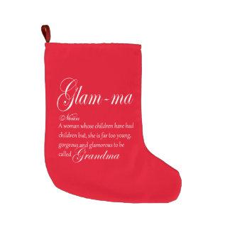 Grande Chaussette De Noël Définition FASCINANTE de grand-maman de mA