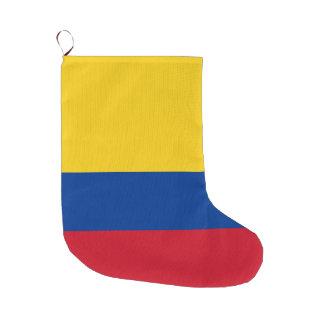 Grande Chaussette De Noël Drapeau de la Colombie