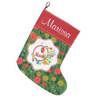 Grande Chaussette De Noël La maman fantastique simplement incroyable la plus
