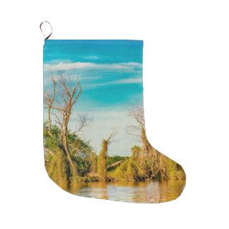 Grande Chaussette De Noël Le fleuve Parana, San Nicolas, Argentine