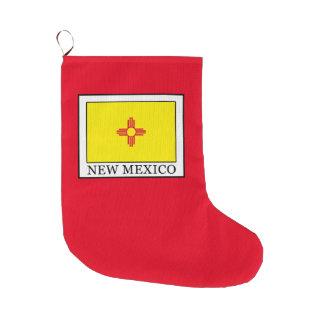 Grande Chaussette De Noël Le Nouveau Mexique