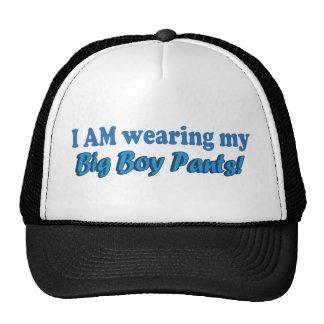 Grande conception des textes de pantalon de garçon casquette trucker