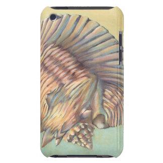 Grande conque en pastel Shell Étui iPod Touch