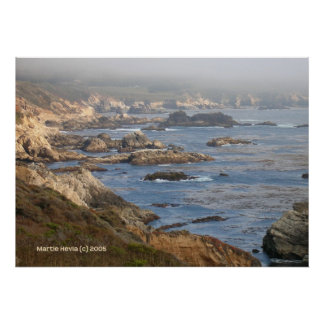 Grande côte rocheuse de Sur Affiches