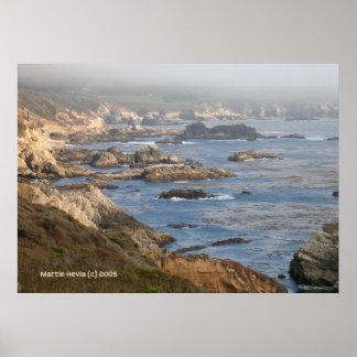 Grande côte rocheuse de Sur Posters