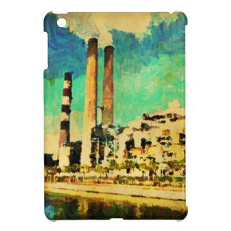 Grande couverture d ipad de peinture de centrale d étuis iPad mini