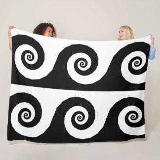 Grande couverture de grandes spirales