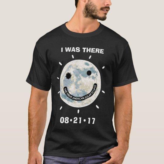 Grande éclipse solaire américaine j'étais là t-shirt