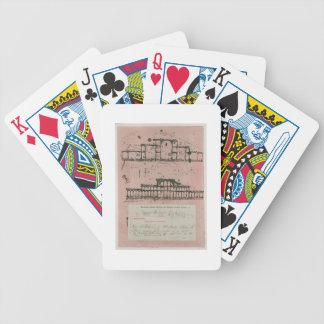 Grande exposition, 1851 : premier croquis pour la  jeu de poker