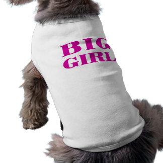 Grande fille - T-shirt de chien