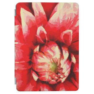 Grande fleur rouge protection iPad air