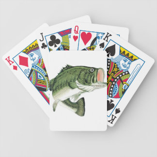 Grande grande basse de bouche jeu de cartes